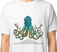 Space Octopus Diver Classic T-Shirt