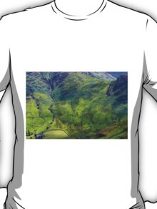 Side Pike From Stickle Ghyll, Great Langdale,Lake District T-Shirt