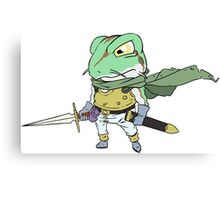 Chrono Trigger Frog Canvas Print