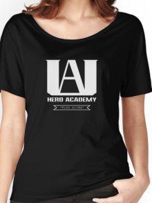 U.A. High Plus Ultra logo - (My Hero Academia, Boku no Hero Academia, BNHA) Women's Relaxed Fit T-Shirt
