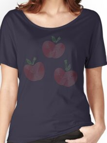 Ornate Applejack Cutie Mark Women's Relaxed Fit T-Shirt