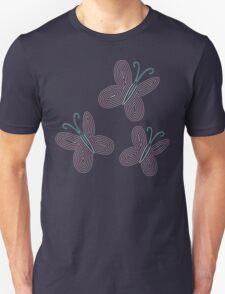 Ornate Fluttershy Cutie Mark T-Shirt