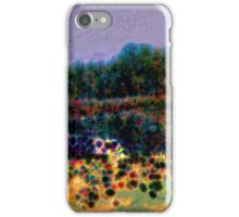 Beautiful abstract landscape iPhone Case/Skin