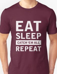 eat sleep pokemon Unisex T-Shirt