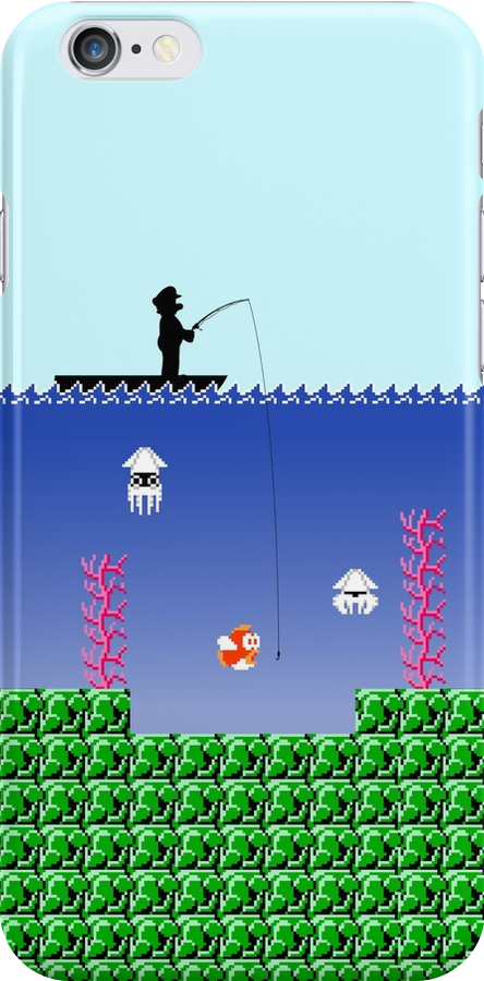 Mario Fishing by Colossal