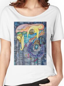 The evening, an allegory Women's Relaxed Fit T-Shirt