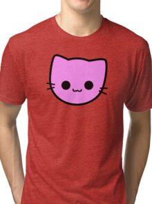 Kawaii Kitty Cats 2048 - tile 2 Tri-blend T-Shirt