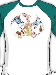 Charizard Splatter T-Shirt