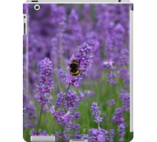Lavender with bumble bee iPad Case/Skin