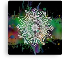 Astra Psychedelica (green) Canvas Print