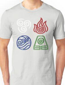 Four Elements Minimalist Unisex T-Shirt