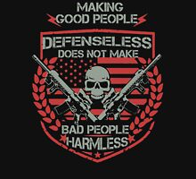Don't Give Up to Defend Yourself Unisex T-Shirt