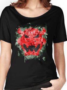 Bowser Emblem Splatter Women's Relaxed Fit T-Shirt