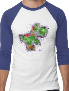 Yoshi Splatter Men's Baseball ¾ T-Shirt