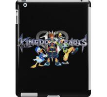 Kingdom Hearts - Sora, Donald, Goofy with logo iPad Case/Skin