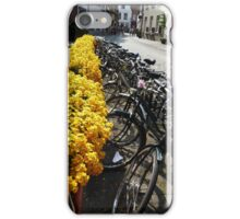Bikes at Brugge (Bruges), Belgium iPhone Case/Skin