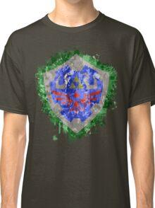 Hylian Shield Splatter Classic T-Shirt