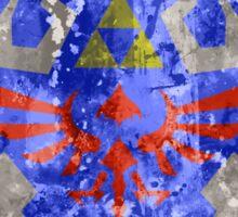 Hylian Shield Splatter Sticker