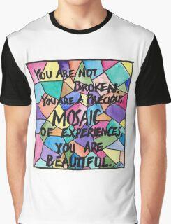 Precious Mosaic Graphic T-Shirt