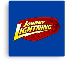 Johnny Lighting Canvas Print