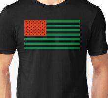 Pan-African American Flag 3 Unisex T-Shirt