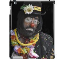 Clown Portrait iPad Case/Skin