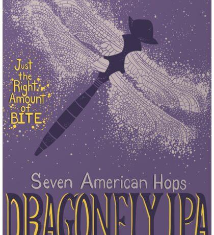 Dragonfly IPA Beer Logo Sticker