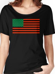 Pan-African American Flag 4 Women's Relaxed Fit T-Shirt