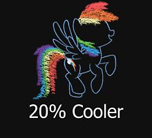 Sprayed Rainbow Dash (20% Cooler) Unisex T-Shirt