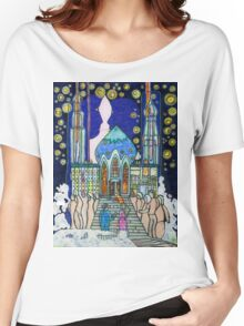 Sometimes, when I lay awake, I build my castle in the clouds Women's Relaxed Fit T-Shirt