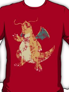 Dragonite Splatter T-Shirt