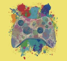 Painted Xbox 360 Controller Baby Tee