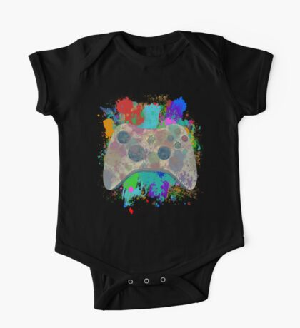 Painted Xbox 360 Controller One Piece - Short Sleeve