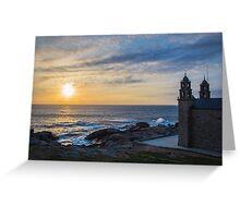 Costa da Morte - Galicia in Spain Greeting Card