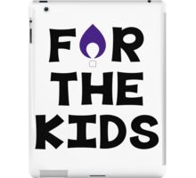 For The Kids--Winona State University iPad Case/Skin