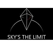 SKY'S THE LIMIT Photographic Print