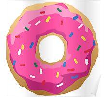 Simpsons Iconic Doughnut  Poster