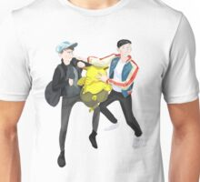 Dan and Phil with Drowzee Unisex T-Shirt