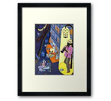 New Orleans, here music is being born, every day anew (My dreams of America, part 2) Framed Print