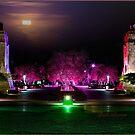 Artists impression of Bond Uni by night by flexigav