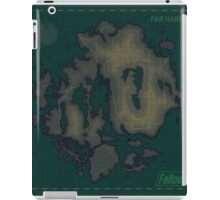 Far Harbor Blank Map iPad Case/Skin