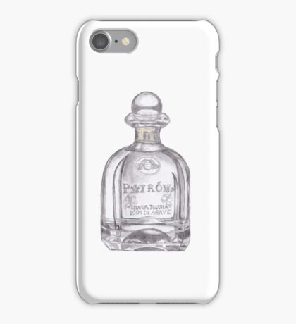 Patron Tequila Bottle  iPhone Case/Skin