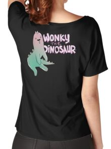 Wonky Dinosaur Women's Relaxed Fit T-Shirt