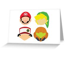 Nintendo Greats Greeting Card