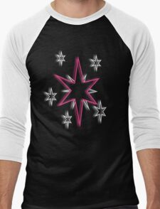 Twilight Sparkle Cutie Mark Men's Baseball ¾ T-Shirt