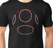 Minimalist Mario Mushroom Unisex T-Shirt