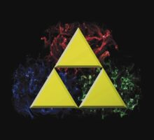Smoky Triforce Kids Tee