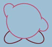 Minimalist Kirby Baby Tee