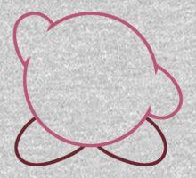 Minimalist Kirby Kids Tee