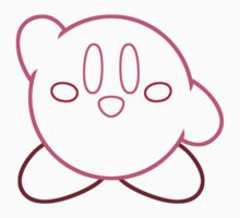 Minimalist Kirby With Face One Piece - Short Sleeve